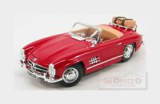 Mercedes Benz 300Sl Touring Spider 1957 Red Burago 1:18 BU12049R