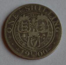 1900 Florin/Two Shilling Victoria Silver Coin