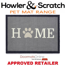 Howler & Scratch 50x75cm (HOME PAW 1) Door and Floor Mat Machine Washable
