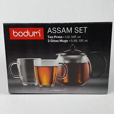 BODUM Teebereiter Assam 3er-set schwarz