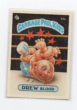Drew Blood Garbage Pail Kids Card # 93 A   NEXT DAY SHIP AFTER PAYMENT
