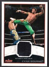 WWE 2012 (Topps) WHITE BORDER AUTHENTIC SHIRT RELIC Card: EVAN BOURNE