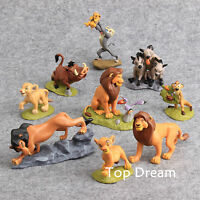 9pcs Movie The Lion King Simba Action Figures Toy Doll Set Cake Topper Xmas Gift