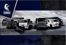 Kamaz Model Range 2017 brochure catalogue camion truck 40 p.