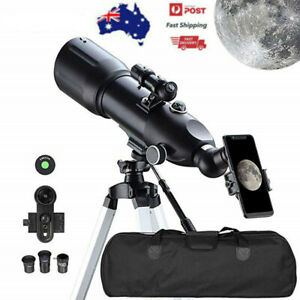 400mm 40080 Monocular Space Astronomical Telescope With High Tripod Outdoor AU