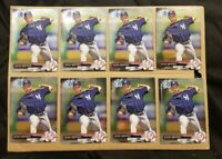 Justus Sheffield Rookie Card lot Bowman Chrome New York Yankees Seattle Mariners