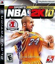 NBA 2K10  (Sony PlayStation 3, 2008)