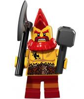 LEGO Series 17 minifigure Battle Dwarf