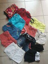 lotto stock abbigliamento bimba shorts pantaloncini estate 12 pezzi 7/8 anni