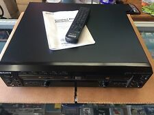 NEAR MINT! SONY RCD-W500C - CD RECORDER WITH 5 DISC CD CHANGER & REMOTE + MANUAL