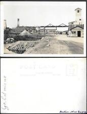 Canada Malartic Gold Mines Limited old real photo PC 1950s. Quebec