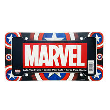 New Captain America Car Truck Universal Fit Automotive License Plate Frame