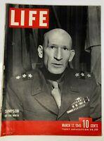 Life Magazine March 12 1945 WW2 Allies Drive for the Rhine Iwo Jima Photos