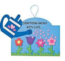 1 Everything Grows with Love Foam Sign Craft Kit Great for Kids Spring Flower