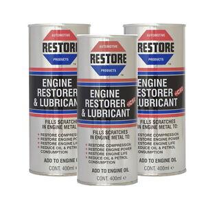 New RESTORE 1.5 1.6 1.7 1.8 1.9 litre engine w AMETECH OIL 3 x 400mls CANS