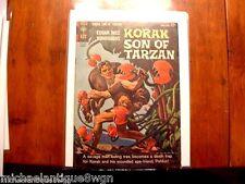 12c 1964 Gold Key #5 Korak Son Of Tarzan Comic High Grade Russ Manning Art