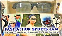 Fast HD Cam Sun Glasses Spy Hidden Sports Camera DVR Video Recorder Eyewear 720P