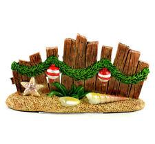 Fairy Garden Christmas Miniature - Beach Christmas Wood Fence