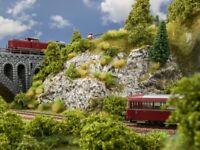 """Noch 60304 Knitterfelsen """"Sandstein"""", das Original Modelleisenbahn, Hobby, GMK"""