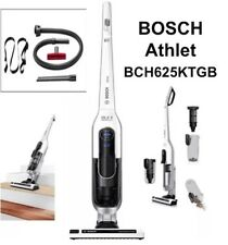 Bosch BCH625KTGB White Athlet Cordless Battery Upright Vacuum Cleaner Recharge