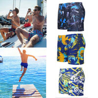 Fashion Men's Summer Beach Swimming Swim Trunks Surf Board Shorts Swimwear Pants