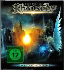 CD + DVD ALBUM / RHAPSODY - ASCENDING TO INFINITY / CD LIVRE COMME NEUF