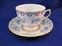 ANTIQUE COLCLOUGH TEA CUP AND SAUCER - ENGLAND PRODUCT OF RIDGWAY POTTERIES LTD