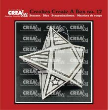 Stanz-schablone Cutting die Sternen-Box Star Weihnachtsbox Xmas CREAlies CCAB17