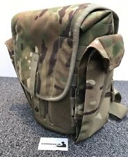 Genuine British Army Gas Mask Bag MTP Respirator/Field Pack Man Bag Satchel
