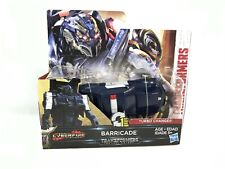 Transformers The Last Knight Cyberfire Turbo Changer - Barricade