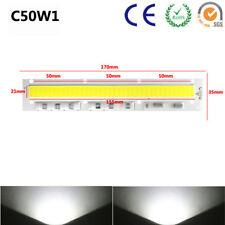 50W LED COB Chip Driver Plant Grow 220V Integrated Smart IC Full Spectrum X2