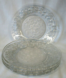 Princess House Fantasia Salad Plate set of 4