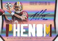 Robert Griffin III 2012 Panini Limited Autograph Jumbo 3-Clr Patch 34/99 RC Auto