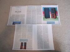 Ar Mgc-1 Ultimate Speaker Review, 5 pgs, 1984,Full Test
