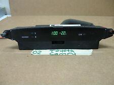 2002-03 TOYOTA CAMRY DASH  DIGITAL CLOCK