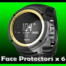 Suunto Core Sahara Yellow Watch Protectors  x 6  protect your watch glass +++