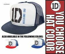 New Retro 1D ONE DIRECTION (BLUES) harry louis niall Cap Hat Snapback Baseball