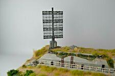 Deutsche.Küstenradaranlage WKII 1:72 Top gebaut+bemalt Builid Unikat f.Diorama
