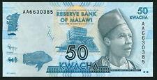 Malawi 50 kwacha 2012.01.01. Inkosi Ya Makhosi M'Mbelwa II P58a UNC