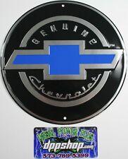 Chevrolet Chevy genuine Parts Gm round sign shop poster logo tag ss gmc auto car