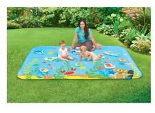 Inflatable Pad Play Day Summer Baby Activity Water Mat Toy For Babies Child Pool