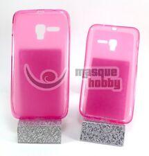 """Funda Carcasa Gel TPU Lisa Alcatel One Touch POP 3 - 5"""" Rosa NUEVO"""