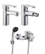 Rubinetto Miscelatore monocomando lavabo bidet vasca set 3 pz serie Young