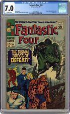 Fantastic Four #58 CGC 7.0 1967 3718448020