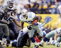 Cowboys Emmitt Smith Signed 16X20 Photo Record Breaking Run BAS Witnessed