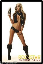 Rockstar Energy Drink Sexy Babe Refrigerator Magnet