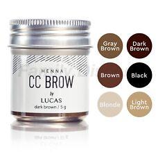 Cc Brow Henna Eyebrow Lucas Cosmetics product line, Bio Tattoo, Value Pack!