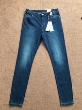M&S Limited Indigo Super Stretch Skinny Jeans Size 12 L BNWT Free Sameday P&p