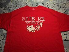 3XL- Lytle Creek Bite Me Hanes Brand T- Shirt