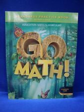 Go Math: Standards Practice Book, Grade 1 by HOUGHTON MIFFLIN HARCOURT